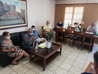 Φωτογραφία για Συνάντηση του Δημάρχου Δήμου Μετεώρων με τον Σύλλογο Φίλων Σιδηροδρόμου Τρικάλων.