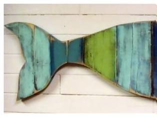 Φωτογραφία για DIY Ξύλινα διακοσμητικά τοίχου σε καλοκαιρινά σχέδια