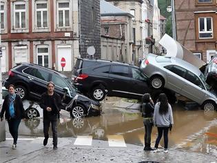 Φωτογραφία για Γερμανία: «Καταστροφή με ανθρώπινη υπογραφή»