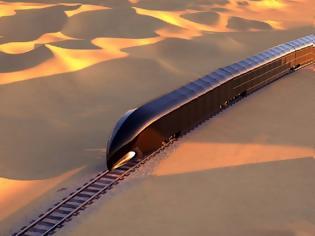 Φωτογραφία για G Train: Το «παλάτι σε ράγες» που σχεδιάστηκε για μία δισεκατομμυριούχο.