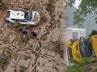 Φωτογραφία για Γερμανία: 133 νεκροί - Παγιδεύτηκαν σε υπόγεια και αυτοκίνητα