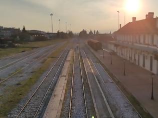 Φωτογραφία για Ικανοποιημένοι αρχικά οι αιρετοί της Δράμας από την ενημέρωση για τη Σιδηροδρομική Εγνατία στο ΥΜΕ.
