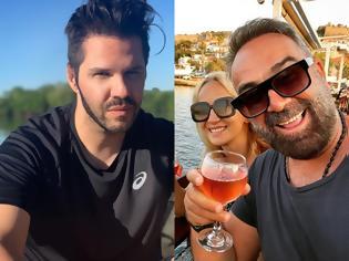 Φωτογραφία για Ο Γιώργος Τσαλίκης και το «ευσυγκίνητο τηλεοπτικό ζευγάρι» στο ίδιο νησί. Η ανάρτηση του τραγουδιστή
