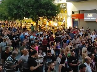 Φωτογραφία για Πορείες διαμαρτυρίας και στην Κρήτη - Διαμαρτυρήθηκαν κατά του υποχρεωτικού εμβολιασμού (Pic)(Video)