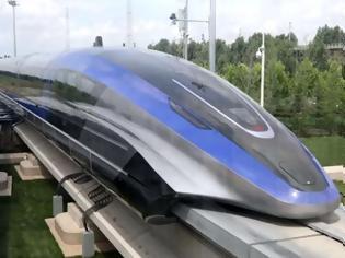 Φωτογραφία για Το γρηγορότερο τρένο στον κόσμο κατασκεύασαν στο Kινγκντάο της Κίνας. Βίντεο.