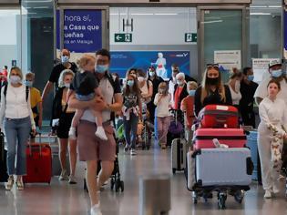 Φωτογραφία για Κοροναϊός - Ισπανία: Καραντίνα 10 ημερών σε ταξιδιώτες από 5 χώρες