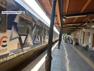 Φωτογραφία για Εικόνα από τον σιδηροδρομικό σταθμό Κατερίνης.