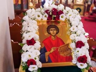 Φωτογραφία για Σήμερα η αγία μας Εκκλησία τιμά τη μνήμη του Μεγαλομάρτυρα και Ιαματικού Παντελεήμονος του θαυματουργού