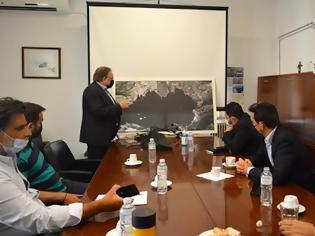 Φωτογραφία για Συνάντηση εργασίας για την σύνδεση του Λιμένα Ελευσίνας με το σιδηροδρομικό δίκτυο.