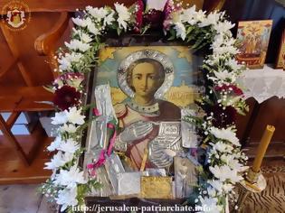 Φωτογραφία για Ο Άγιος Παντελεήμων στο Πατριαρχείο Ιεροσολύμων