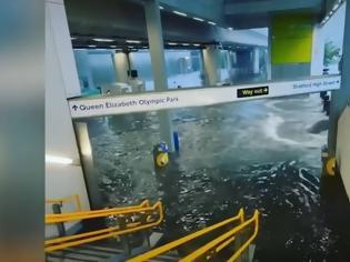 Φωτογραφία για Λονδίνο: Πλημμύρισαν νοσοκομεία και σταθμοί του μετρό - Εικόνες χάους στη βρετανική πρωτεύουσα