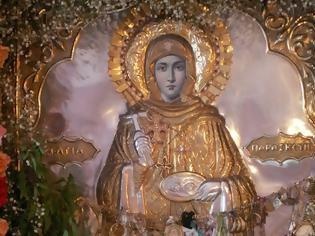 Φωτογραφία για Η θαυματουργή εικόνα της Αγίας Παρασκευής στις Σπέτσες