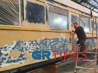 Φωτογραφία για ΟΣΕ και ΤΡΑΙΝΟΣΕ ανασταίνουν wagοn restaurant του θρυλικού Orient Express (φωτό).