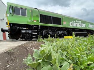Φωτογραφία για Το τρένο που κινείται με μαγειρικό λάδι θα μεταφέρει αυτοκίνητα Toyota από το εργοστάσιο του South Derbyshire