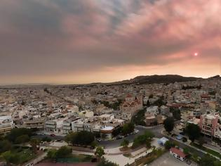 Φωτογραφία για Φωτιές: «Ασφυξία» λόγω της ατμοσφαιρικής ρύπανσης στην Αττική