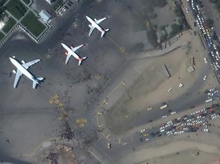 Φωτογραφία για Αφγανιστάν: Το χάος στην Καμπούλ σε δορυφορικές φωτογραφίες