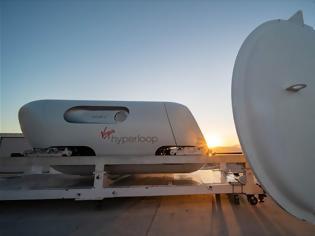 Φωτογραφία για Virgin Hyperloop: Νέο concept για κάψουλες στο φουτουριστικό μέσο μεταφοράς