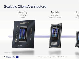 Φωτογραφία για OI CPU  Alder Lake της Intel διαθέτουν Thread Director