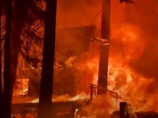 Φωτογραφία για Πύρινος εφιάλτης στην Καλιφόρνια - Εκκενώθηκαν κοινότητες κοντά στη Λίμνη Τάχο