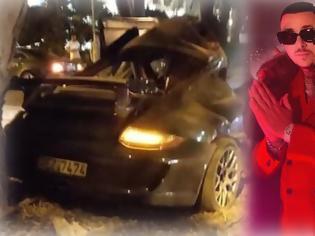 Φωτογραφία για Mad Clip: Νεκρός σε τροχαίο ο γνωστός ράπερ - Άμορφη μάζα το αυτοκινήτό του