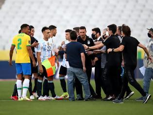Φωτογραφία για Κίνδυνος φυλάκισης έως και πέντε έτη για τους τέσσερις παίκτες της Αργεντινής