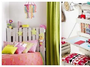 Φωτογραφία για DIY Κατασκευές από Παλέτες για νεανικά - παιδικά δωμάτια