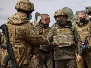 Φωτογραφία για Ζελένσκι: Ένας πόλεμος της Ουκρανίας με τη Ρωσία είναι το χειρότερο σενάριο αλλά υπάρχει αυτή η πιθανότητα
