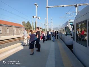 Φωτογραφία για Πρωϊνή ταλαιπωρία για επιβάτες τρένου.