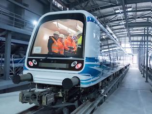 Φωτογραφία για Μετρό Θεσσαλονίκης: Βίντεο από τις δοκιμές των συρμών «Η πόλη κινείται, κάτι τρέχει στα έγκατα της πόλης».