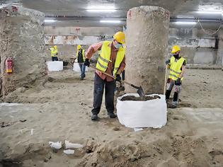Φωτογραφία για Μετρό Θεσσαλονίκης: Σήμερα η απόφαση του Πρωτοδικείου για τις εργασίες απόσπασης των αρχαιοτήτων.