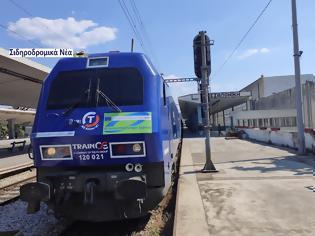 Φωτογραφία για Αναχώρηση από τη Θεσσαλονίκη του Connecting Europe Express. Εικόνες και βίντεο.