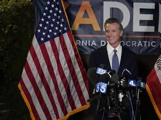 Φωτογραφία για Νίκη για τον κυβερνήτη της Καλιφόρνιας που παραμένει στη θέση του
