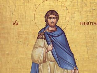 Φωτογραφία για 15 Σεπτεμβρίου: Σήμερα η Αγία Εκκλησία μας τιμά τη μνήμη του Αγίου Μεγαλομάρτυρος Νικήτα