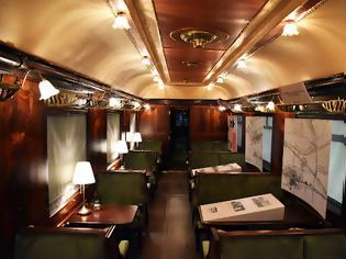 Φωτογραφία για Η Μουσειακή Αποκατάσταση του Οχήματος-Εστιατορίου του Simplon-Orient Express από τον ΟΣΕ.