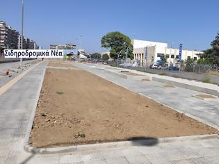 Φωτογραφία για Σταδιακά αλλάζει η εικόνα του σιδηροδρομικού σταθμού Θεσσαλονίκης. Εικόνες.