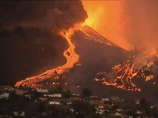 Φωτογραφία για Έκρηξη ηφαιστείου στην Ισπανία: Εκκενώνονται κοινότητες - Ποτάμια λάβας