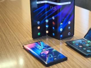 Φωτογραφία για Τα θαυμαστά smartphones: Αναδιπλούμενα κινητά με «ευέλικτες οθόνες»