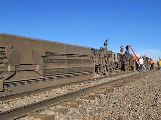 Φωτογραφία για ΗΠΑ: Τουλάχιστον τρεις νεκροί έπειτα από εκτροχιασμό τρένου στη Μοντάνα