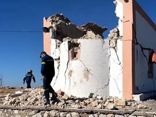 Φωτογραφία για Σεισμός Κρήτη: Ένας νεκρός από τη δόνηση των 5,8 Ρίχτερ - Έντεκα οι τραυματίες