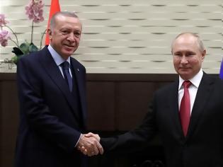 Φωτογραφία για Για υποβρύχια, αεριωθούμενα και ...εξέδρες εκτόξευσης πυραύλων στο διάστημα, μίλησε ο Ερντογάν με τον Πούτιν