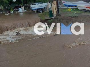 Φωτογραφία για Κακοκαιρία «Αθηνά»: Χτύπησε τη Βόρεια Εύβοια με πλημμύρες και κατολισθήσεις
