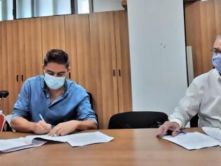 Φωτογραφία για Ρέθυμνο: Συμβάσεις έργων ύψους 1.300.000 ευρώ για το Ρέθυμνο υπέγραψε ο δήμαρχος