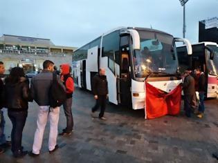 Φωτογραφία για Τους τσάκωσε στα πράσα το ΣΔΟΕ...Αλβανικά λεωφορεία έκαναν δρομολόγια Ελλάδα Αλβανία χωρίς να κόβουν εισιτήρια...