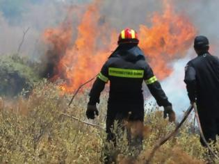Φωτογραφία για ΤΩΡΑ: Φωτιά στην Κύθνο