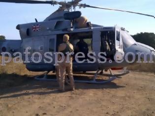 Φωτογραφία για Πάφος: Αναγκαστική προσγείωση ελικοπτέρου των Βρετανικών Βάσεων λόγω βλάβης