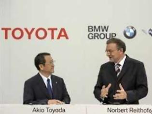 Φωτογραφία για Διευρύνεται η συνεργασία BMW και Toyota