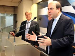 Φωτογραφία για ΚΩΣΤΗΣ ΧΑΤΖΗΔΑΚΗΣ / Οι 4 άξονες για την εκκίνηση της οικονομίας...!!!