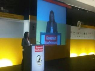 Φωτογραφία για Η κα Κεφαλογιάννη στο συνέδριο του Economist: Οι μηχανές της οικονομίας δεν θα «πάρουν και πάλι μπροστά» με θεωρίες