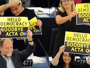 Φωτογραφία για Το Ευρωκοινοβούλιο απέρριψε τη συνθήκη ACTA