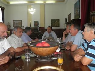 Φωτογραφία για Συνάντηση του Υπουργού Μακεδονίας και Θράκης με τη Διοίκηση του Εργατοϋπαλληλικού Κέντρου Θεσσαλονίκης